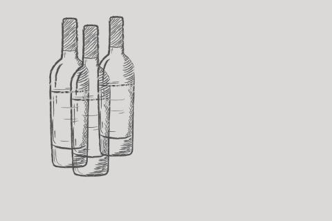 Lyijykynäpiirros, jossa on kolme pulloa vierekkäin.